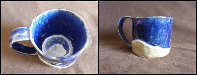 Small wave mug