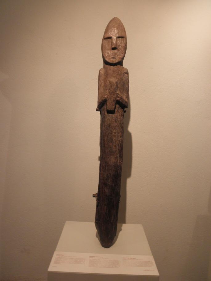 Pre-Inca wood sculpture