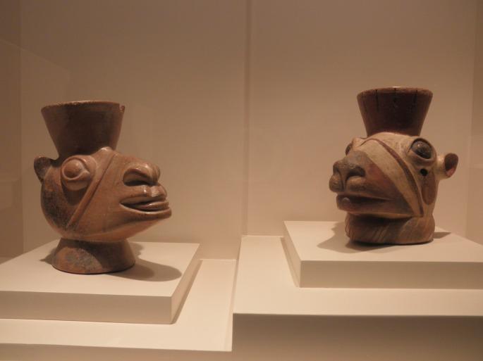 Sculpted Vessels, Huari Civilization, Representation of Camelids, 800-1300 AD
