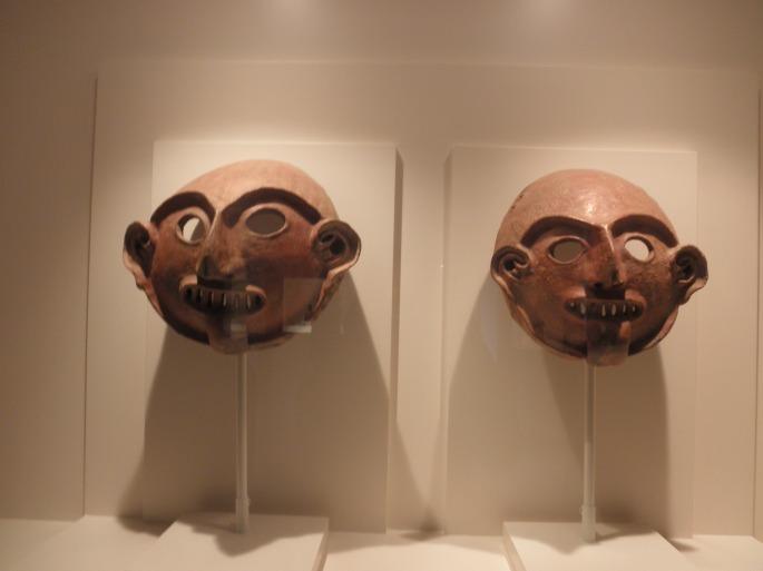 Vicus Civilization, Ceremonial Funerary Masks, 1250 BC-1 AD