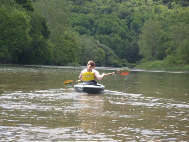 Me kayaking