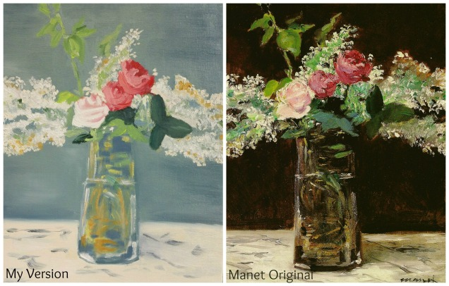 manet flowers
