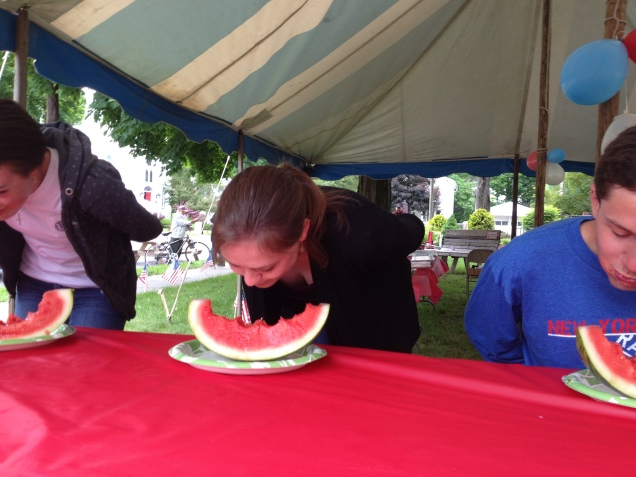 Watermelon Eating Contest