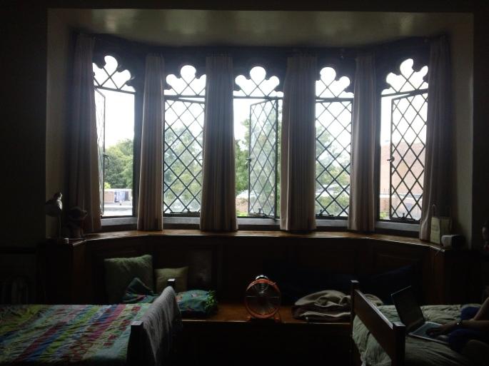 The AMAZING window seat in my dorm room!