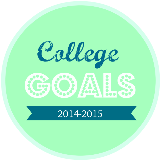 College Goals Junior Year