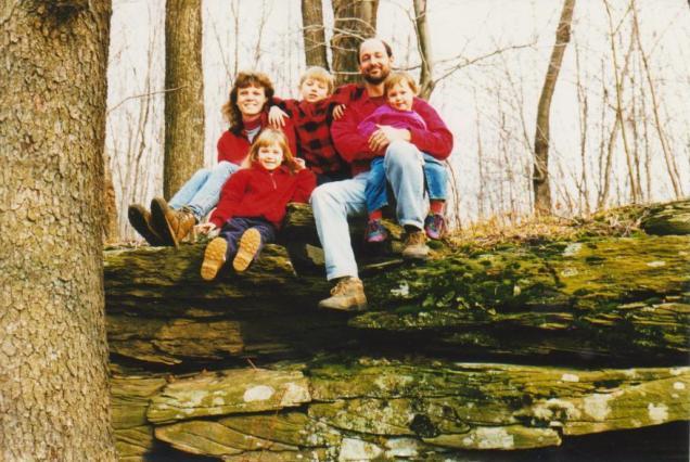 Our family, circa 1998
