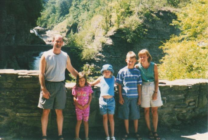 Our family, circa 2001