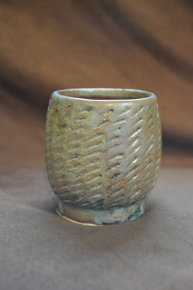 Small textured cup