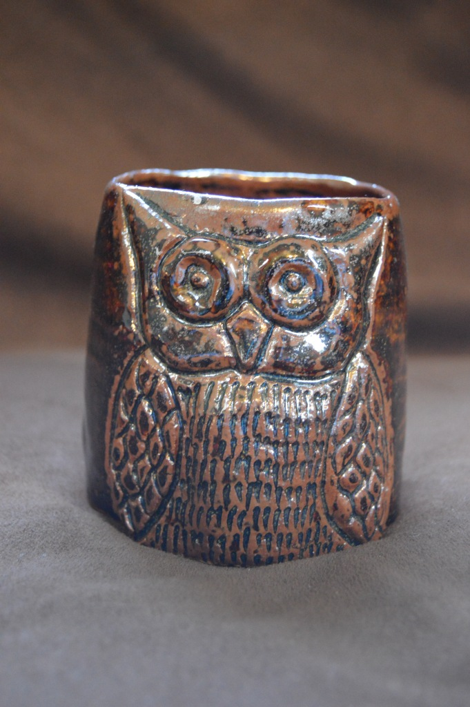 Medium-sized owl cup