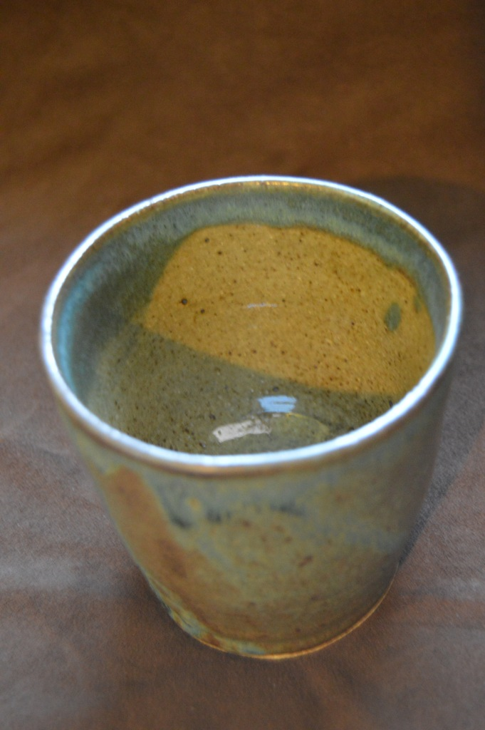 Inside of medium cup