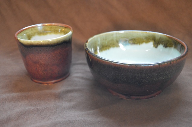 Bowl and cup set