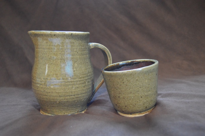 Pitcher and cup set