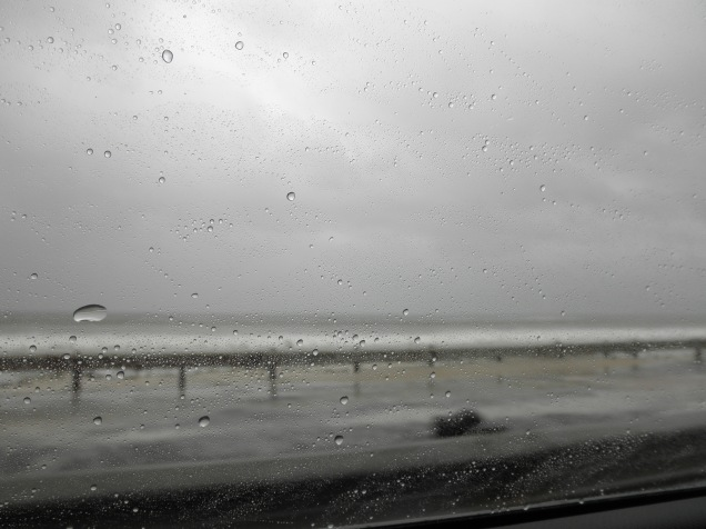 Rainy drive to Fish Hoek