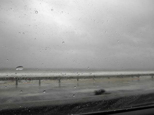 Rainy drive to Fish Hoek
