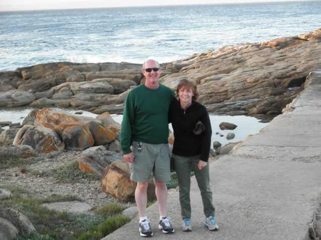 My parents at Mossel Bay