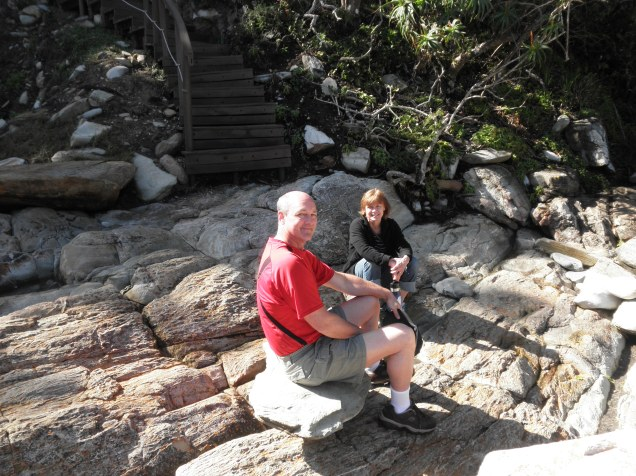 My parents at Tsitsikamma National Park