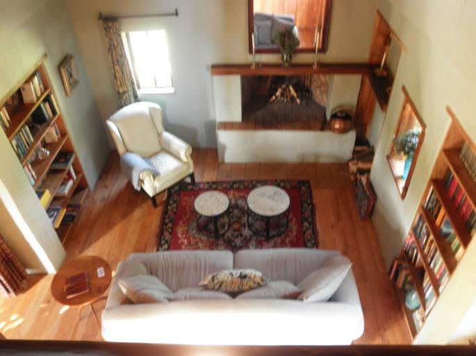 Living room of Fynboshoek Cottage