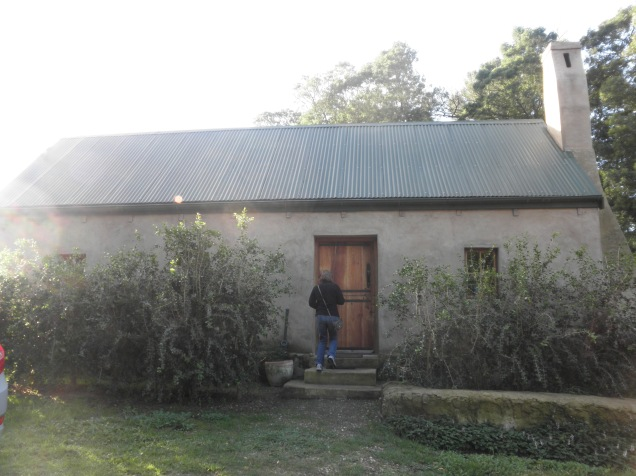 Front of Fynboshoek Cottage