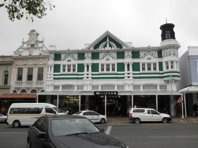 Cool architecture in Grahamstown
