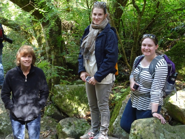 Our hike in Hogsback (I'm on the right)