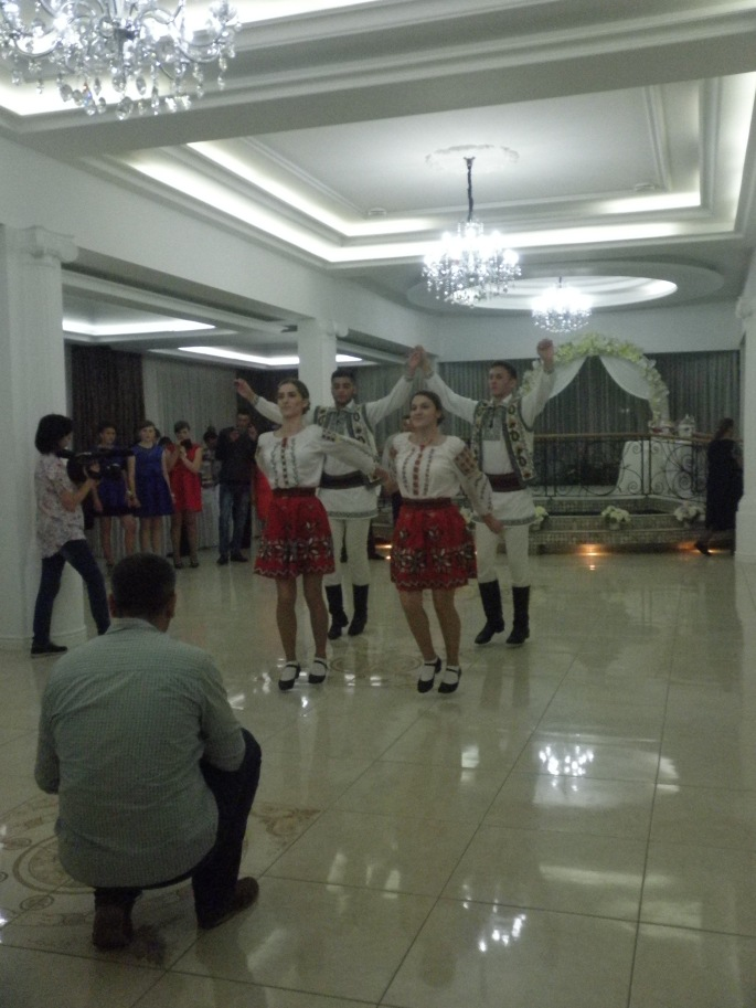 Traditional dancers performing