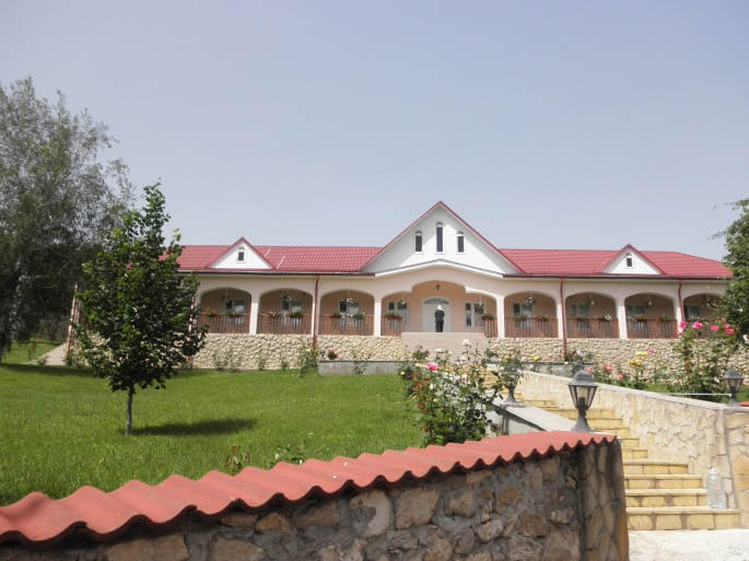 Nuns' quarters at Sfantul Gheorghe Monastry