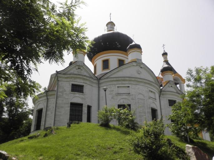 The main church at Sfantul Nicolae Monastry