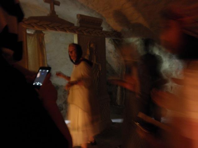 Underground Sanctuary at Sfantul Nicolae Monastry