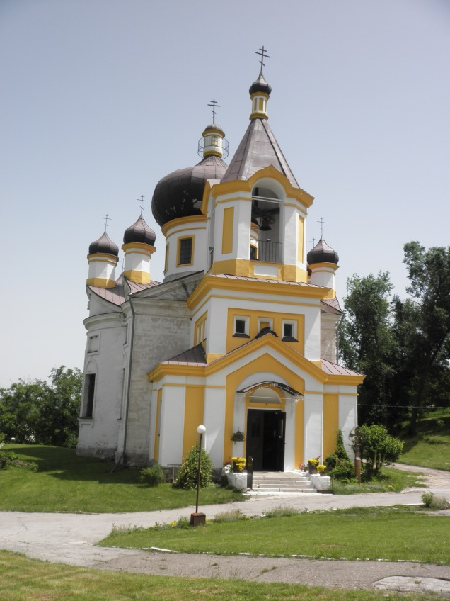 The main church at Sfantul Nicolae Monastry