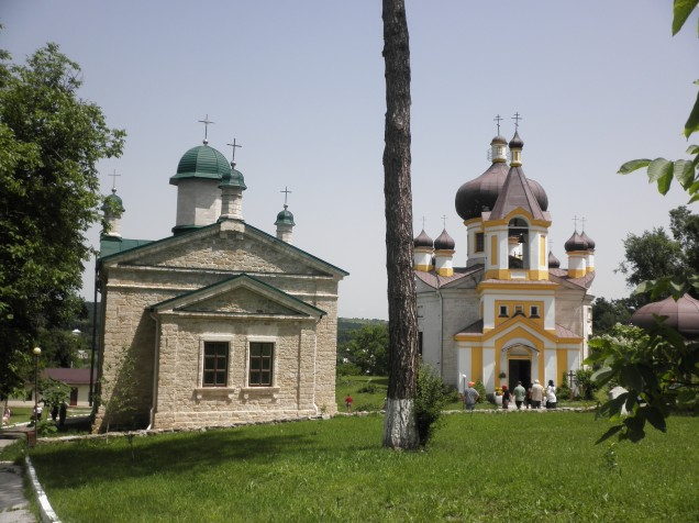 The two churches at Sfantul Nicolae Monastry