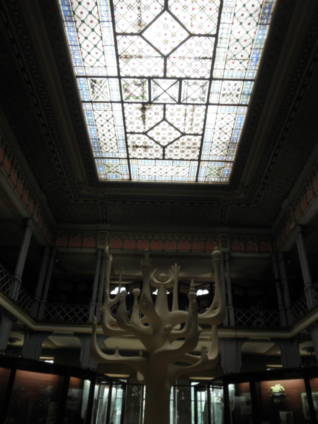Inside the National Museum of Ethnography and Natural Science