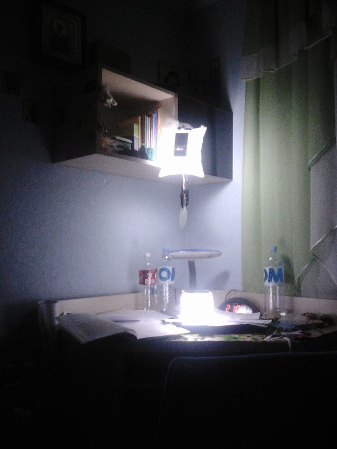 We lost power one night recently and I was so happy to have my LuminAID solar-powered lanterns!