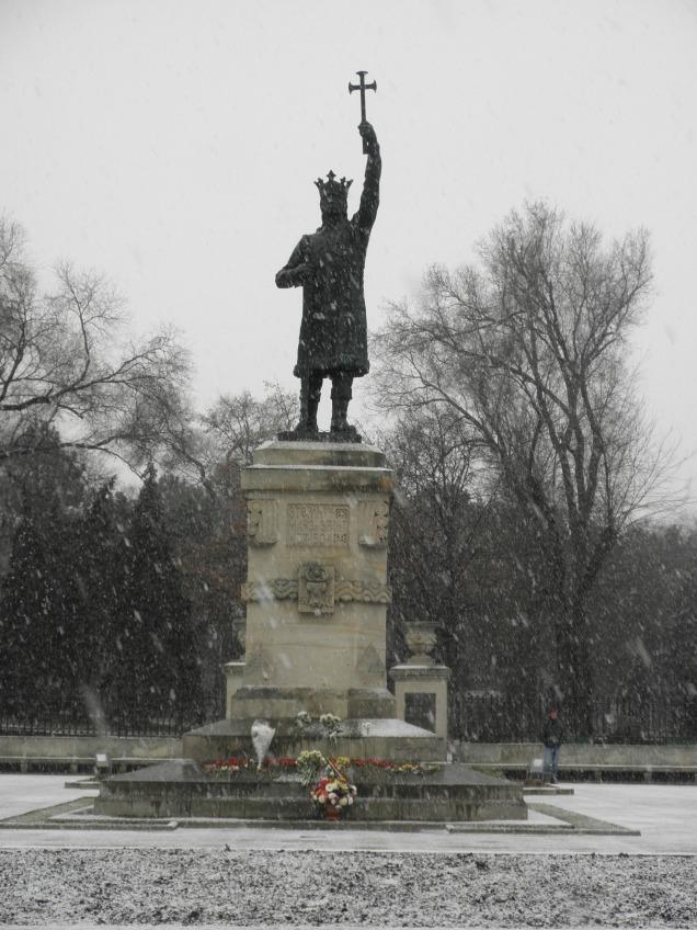 Stefan cel Mare monument in Stefan cel Mare Park, Chisinau