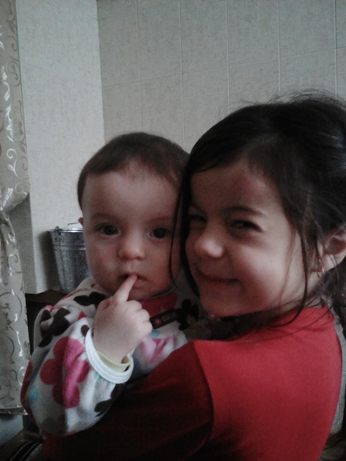 My host nieces, Valerica and Eva