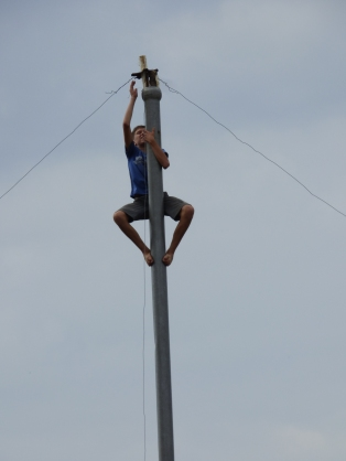 Pole Climbing Competition
