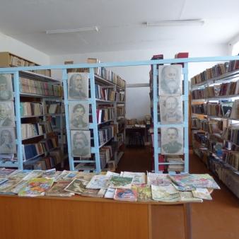 Bookshelves and books before