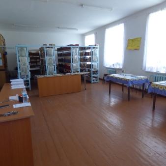 Full library shot before